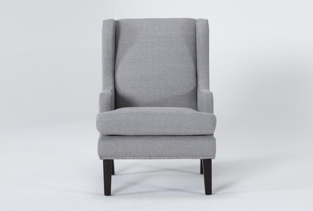 Clayton Grey Wingback Chair