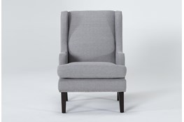 Clayton Grey Wingback Chair
