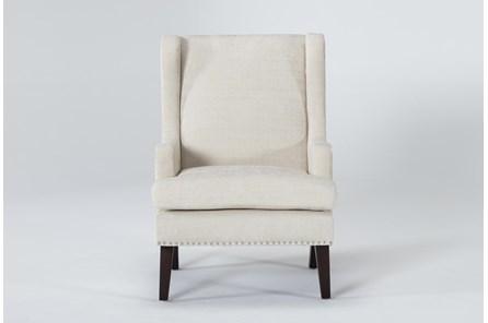 Clayton Linen Wingback Chair - Main