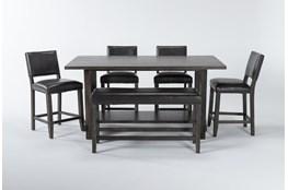 Auburn Charcoal 6 Piece Counter Set