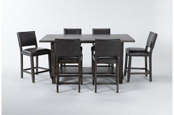 Auburn Charcoal 7 Piece Counter Set