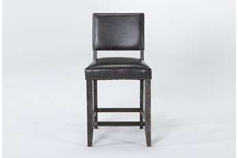 Auburn Charcoal Counter Stool