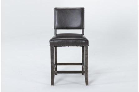 Auburn Charcoal Counter Stool - Main