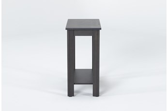 Pierce Charcoal Chairside Table