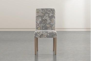 Garten Granite Dining Side Chair With Greywash Finish Set Of 2