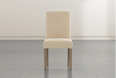Garten Almond Dining Side Chair With Greywash Finish Set Of 2