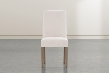 Garten Ivory Dining Side Chair With Greywash Finish Set Of 2