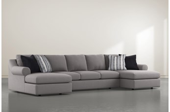 "Bryden 3 Piece 166"" Sectional With Double Chaise"