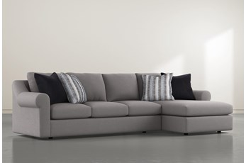 "Bryden 2 Piece 134"" Sectional With Right Arm facing Chaise"