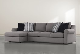 """Bryden 2 Piece 134"""" Sectional With Left Arm Facing Chaise"""
