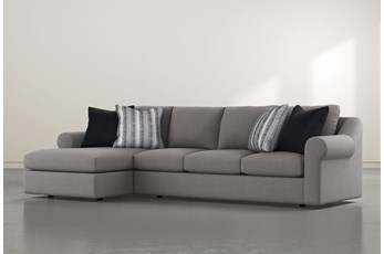 "Bryden 2 Piece 134"" Sectional With Left Arm Facing Chaise"