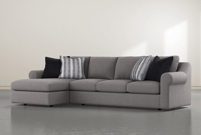 """Bryden 2 Piece 134"""" Sectional With Left Arm Facing Chaise - 360"""