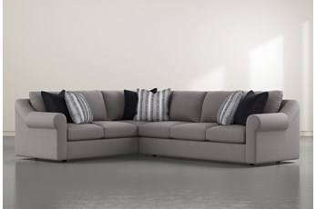 "Bryden 2 Piece 131"" Sectional With Right Arm facing Sofa"