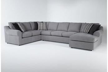"Bryden 3 Piece 163"" Sectional With Right Arm facing Chaise"