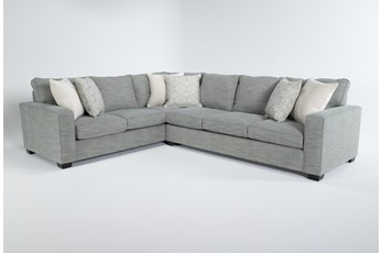 """Oslo 2 Piece 100"""" Sectional With Right Arm Facing Sofa"""