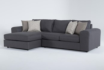 """Edinburgh 2 Piece 110"""" Sectional With Left Arm Facing Chaise"""