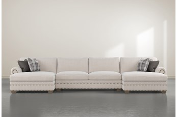 "Chesney 3 Piece 170"" Sectional With Double Chaise"