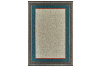 118X154 Outdoor Rug-Caribbean Border