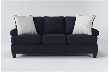 "Cordelia Ink 86"" Queen Sofa Sleeper"