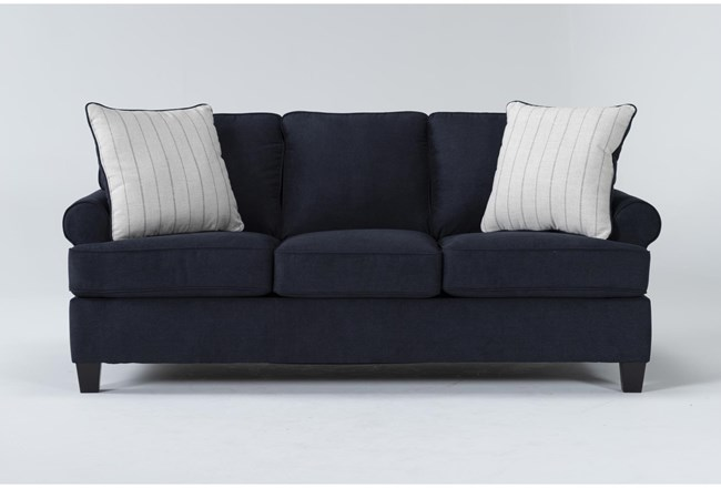 "Cordelia Ink 86"" Queen Sofa Sleeper - 360"
