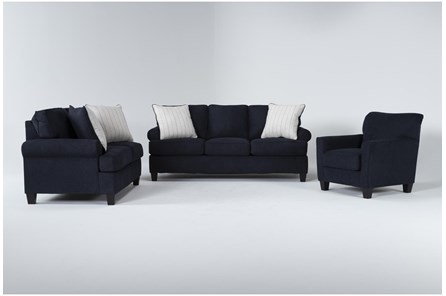 Blue Living Room Sets Home Furniture Collections Spaces