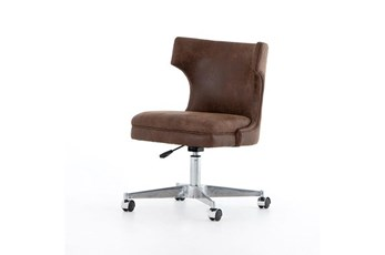 Vintage Tobacco Adjustable Desk Chair