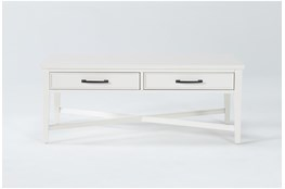 Presby White Coffee Table