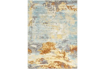 63X87 Rug-Abacos Blue And Sunset