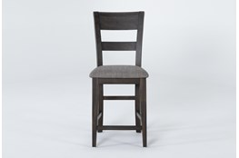"Double Bridge Slat Back 43"" Counterstool"