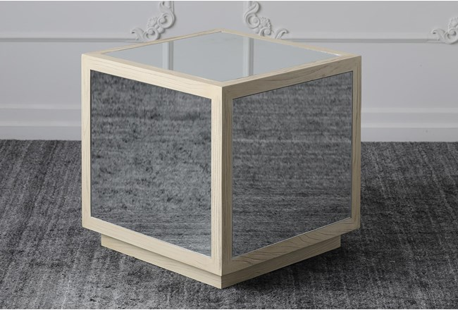 Mirrored End Table - 360