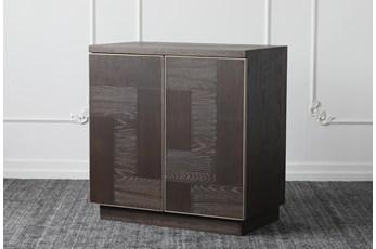Black Oak 2 Door Cabinet