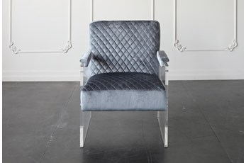Midnight Blue Arm Chair