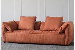 """Russet 91"""" Sofa"""