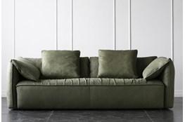 "Green 91"" Sofa"
