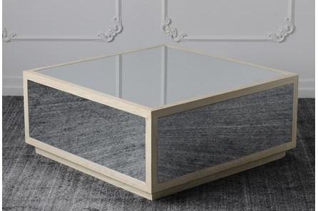 Mirrored Coffee Table - Main