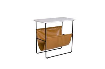 Accent Table With Magazine Holder