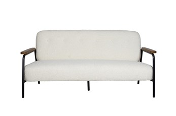 "White 65"" Loveseat"