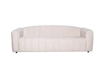 """Arcus Ivory Velvet 92"""" Sofa"""