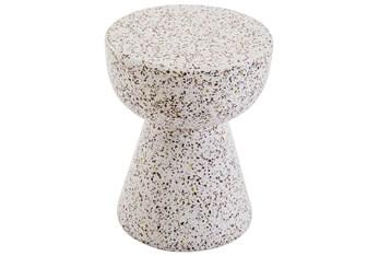 Terrazzo Concrete Accent Table