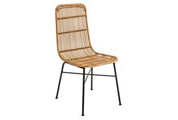 Wicker Dining Side Chair