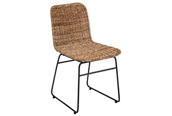 Lampacanay Woven Dining Side Chair