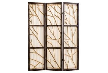 Natural Driftwood 3 Panel Screens