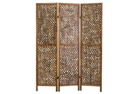 Pine + Bamboo 3 Panel Screens - Main