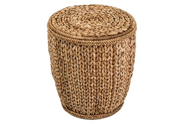 Lampacanay Woven Accent Table