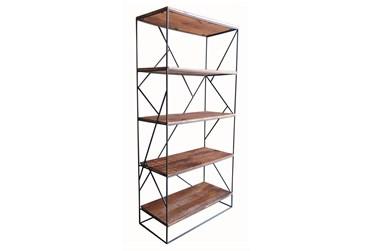 "Natural 72"" Bookcase"