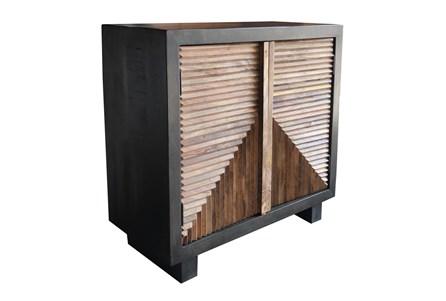 Brown 2 Door Cabinet - Main