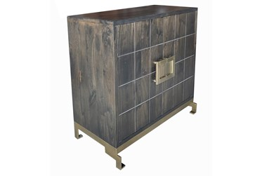 Dark Brown 2 Cabinet