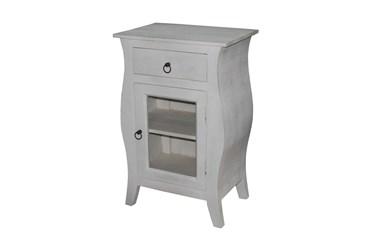 White Wash Cabinet