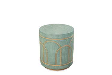 Seafoam Green Accent Table