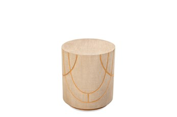 Taupe Grey Accent Table